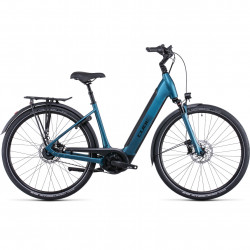 Bicicleta CUBE SUPREME HYBRID EXC 625 EASY ENTRY Blue Black