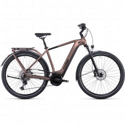 Bicicleta CUBE TOURING HYBRID EXC 625 Mocha Black