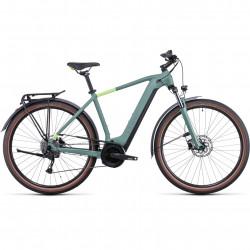 Bicicleta CUBE TOURING HYBRID ONE 400 Green Sharpgreen