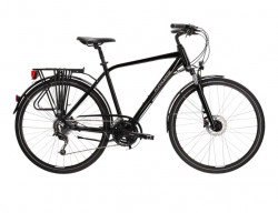 "BICICLETA KROSS TRANS 5.0 28"" BLACK GREY M"