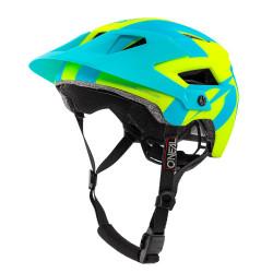 Casca O'Neal Defender 2.0 Galben Neon/Albastru L/XL