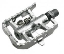 Pedale HTI SPD-MTB Multi - 210S Argintii
