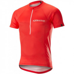Tricou Alpinestars Elite S/S Jerdey Red/White