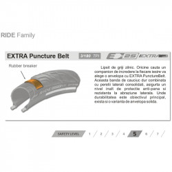 Anvelopa Continental Ride City Reflex Extra Puncture Belt 37-622 28x1.4