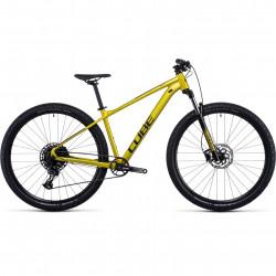 Bicicleta CUBE ANALOG Flashlime Black