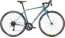 BICICLETA CUBE AXIAL WS Greyblue Lime