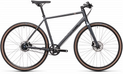 BICICLETA CUBE HYDE RACE Iridium Black