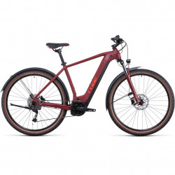 Bicicleta CUBE NURIDE HYBRID PERFORMANCE 625 ALLROAD Darkred Red
