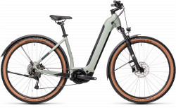 BICICLETA CUBE NURIDE HYBRID PERFORMANCE 625 ALLROAD EASY ENTRY Lunar Grey