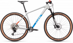 BICICLETA CUBE REACTION C:62 PRO Grey Blue Red