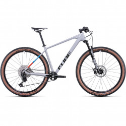 Bicicleta CUBE REACTION C:62 PRO Prismagrey Blue Red