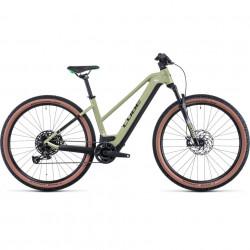 Bicicleta CUBE REACTION HYBRID EXC 625/750 29 TRAPEZE Green Flashgreen
