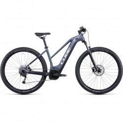 Bicicleta CUBE REACTION HYBRID PERFORMANCE 625 TRAPEZE Metallicgrey White