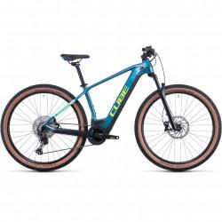 Bicicleta CUBE REACTION HYBRID RACE 625 Blue Lime