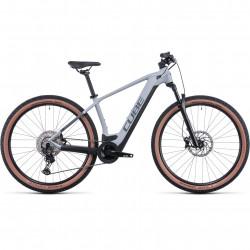 Bicicleta CUBE REACTION HYBRID RACE 625 Lunar Grey
