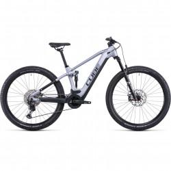 Bicicleta CUBE STEREO HYBRID 120 RACE 625 Polarsilver Black