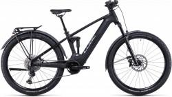 Bicicleta CUBE STEREO HYBRID 120 SL ALLROAD 625/750 Black Metal