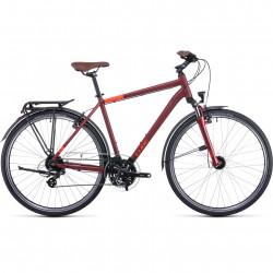 Bicicleta CUBE TOURING Darkred Red