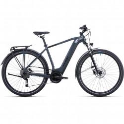 Bicicleta CUBE TOURING HYBRID ONE 400 Grey Blue