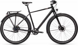 BICICLETA CUBE TRAVEL PRO Black Teak