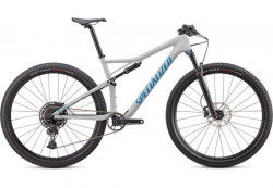 Bicicleta SPECIALIZED Epic Comp Carbon 29 Gloss Dove Grey Blue Ghost Pearl/Pro Blue