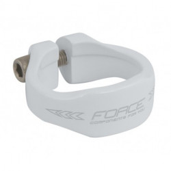 Colier Force 34.9mm Aluminiu Alb