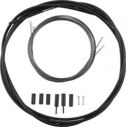 Set cablu/camasa schimbator Shimano Road Optislick Negru