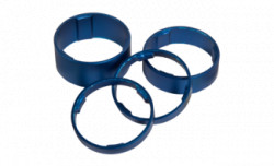 Set Distantieri Cube Aluminiu Albastru