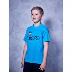 Tricou Cube Junior Andre Albastru