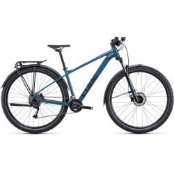 Bicicleta CUBE AIM SL ALLROAD Teal Black