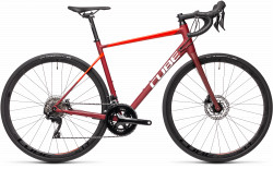 BICICLETA CUBE ATTAIN SL Red Red