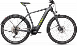 BICICLETA CUBE CROSS HYBRID PRO 625 ALLROAD Iridium Green