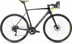 BICICLETA CUBE CROSS RACE C:62 PRO Carbon Flashyellow