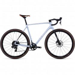 Bicicleta CUBE CROSS RACE C:68X SLT Frostwhite Orange