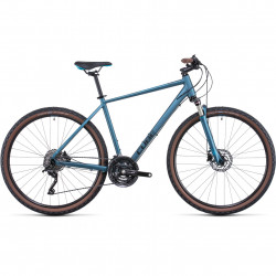 Bicicleta CUBE NATURE EXC Blue Blue