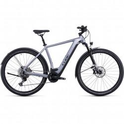 Bicicleta CUBE NURIDE HYBRID EXC 625 ALLROAD Polarsilver Black