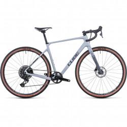 Bicicleta CUBE NUROAD C:62 SL Lightgrey Grey
