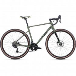 Bicicleta CUBE NUROAD RACE Olive Black