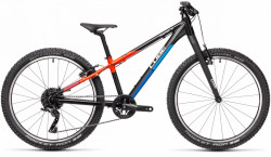 BICICLETA CUBE REACTION 240 SL Black Blue Red