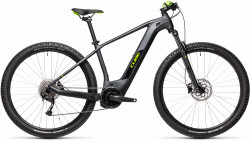 BICICLETA CUBE REACTION HYBRID PERFORMANCE 500 Iridium Green