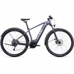 Bicicleta CUBE REACTION HYBRID PERFORMANCE 625 ALLROAD Metallicgrey White