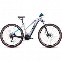 Bicicleta CUBE REACTION HYBRID PERFORMANCE 625 TRAPEZE Polarsilver Blue