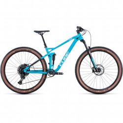 Bicicleta CUBE STEREO 120 PRO Skyblue White