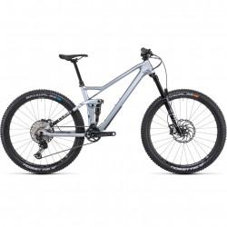 Bicicleta CUBE STEREO 140 HPC SL 27.5 Polarsilver Black