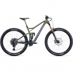 Bicicleta CUBE STEREO 150 C:62 TM 29 Flashgrey Olive