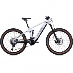 Bicicleta CUBE STEREO HYBRID 120 SL 625/750 White Grey