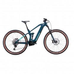 Bicicleta CUBE STEREO HYBRID 140 HPC RACE 625 Teal Mint