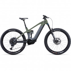Bicicleta CUBE STEREO HYBRID 140 HPC TM 625/750 Flashgrey Olive