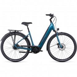 Bicicleta CUBE SUPREME RT HYBRID EXC 625 EASY ENTRY Blue Black