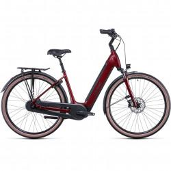 Bicicleta CUBE SUPREME RT HYBRID PRO 625 EASY ENTRY Red Black